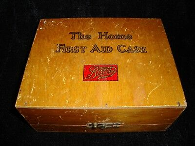 Vintage Boots The Chemist Home First Aid Kit Box & Contents