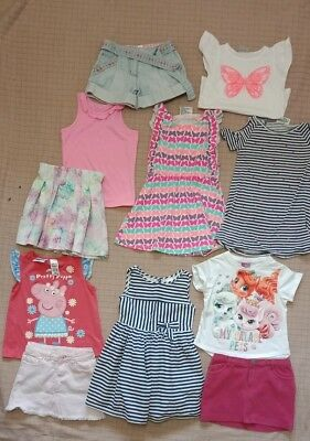 Girls Clothes Size 3 Bulk Pack With 11 Items Inc Seed