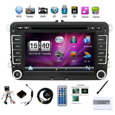 "7"" AUTORADIO GPS Navi DVD Player Für VW RADIO PASSAT TOURAN GOLF 5 6 POLO Caddy"