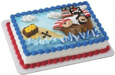 Little Pirates Themed Birthday Cake Kit. DecoPac. Free Delivery
