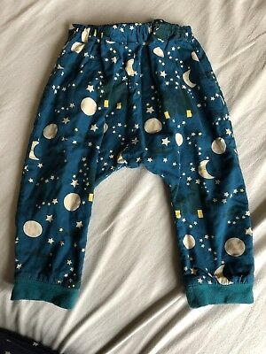 Little Green Radicals Trousers Joggers Pants 12-18 Size 86