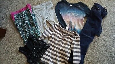 Girls size 8 mixed bundle of winter clothes