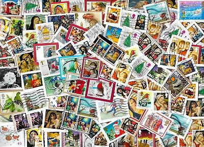 GB High Value Christmas Stamps Kiloware - approx 25 gms