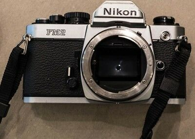 Nikon FM2N 35mm SLR Film Camera Body Only