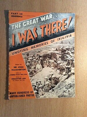 The Great War, I Was There. Magazines, Many Volumes Available, See Description