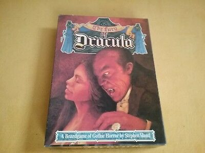 Games Workshop The Fury Of Dracula Brettspiel Boardgame komplett Englisch