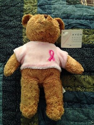 avon breast cancer bear
