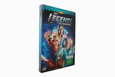 DC's Legends of Tomorrow The Complete Third  (DVD, 4-Disc Set) NEW Free shipping