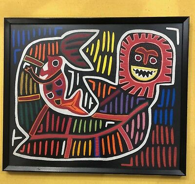 Mola Artwork From The Kuna Indians