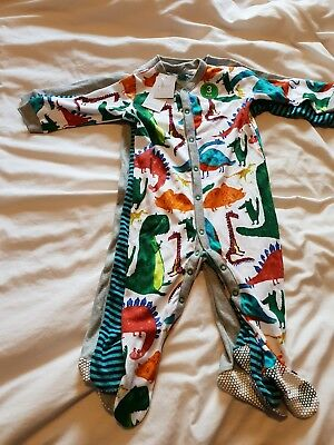 Next boys 9-12 months sleepsuits