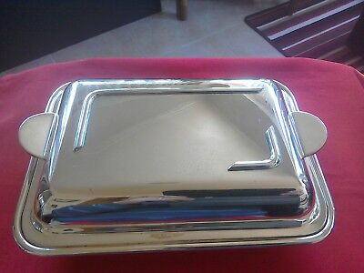 Lovely vintage silver plate tureen