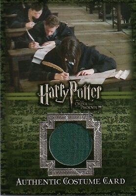 Harry Potter & The Order of The Phoenix, Costume Card C13 #271/560