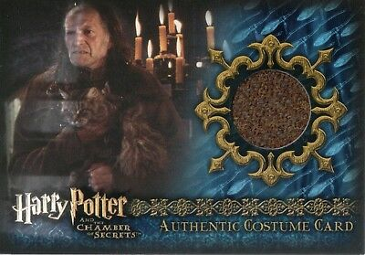 Harry Potter & The Chamber Of Secrets, Authentic Costume Card #055/665 C7