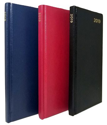 2019 Weekly Pocket Planner, Hardcover, 6-1/2 in x 3-1/4 in colors vary
