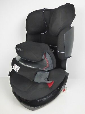 CYBEX Pallas-Fix, Toddler Car Seat Group 1/2/3, Pure Black Black USED EXCELLENT