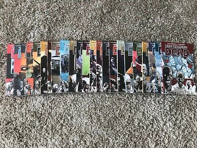 The Walking Dead Graphic Novels Set - Volumes 1 - 23 - Great Condition
