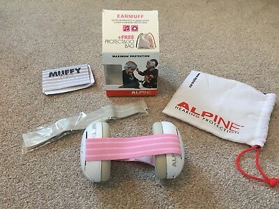 ALPINE Baby Ear Defenders Muffs, Newborn to 18 Months (with Original Packaging)