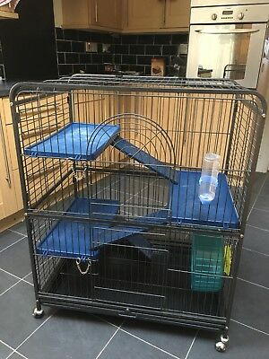 Large rodent cage. Suitable for rats,chincillas,degus etc