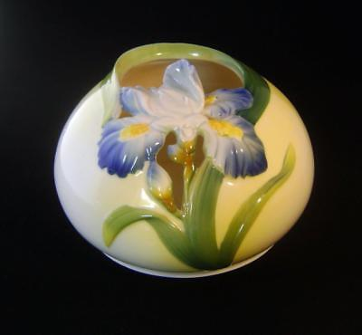 Graff Porcelain Iris Vase /  Bowl 17 cm wide  - perfect - Art Nouveau Style