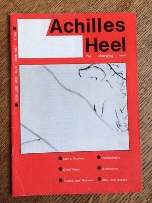 Achilles Heel, No 8 April 1987, magazine, good condition