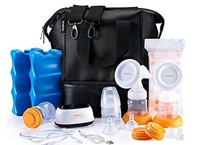 MADENAL Double Electric Breast Pump BPA Free Quite Comfort Efficient Breastpumps