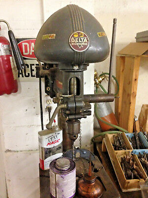 Delta Milwaukee Drill Press W/ Dp220 Head