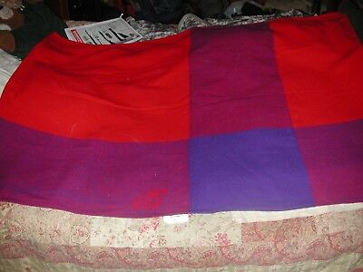 Vintage Virgin Atlantic Airlines Sweet Dreams Blanket
