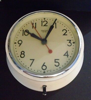 Vintage Smiths Sectric electric wall clock 20 cm diameter