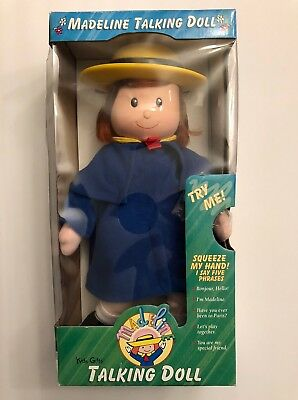 """Madeline Talking Doll 16"""" 1998 Brand New In Box Vintage"""