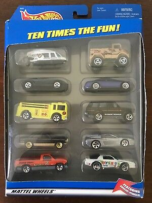 1997 Hot Wheels Toys R Us 10 Car Gift Set With Very Rare 1970 S