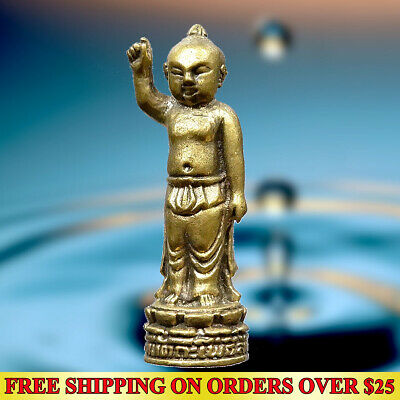 Paladkik Call Money Thai Amulet Statue Wealth Talisman Lucky Casino Gamble Rich