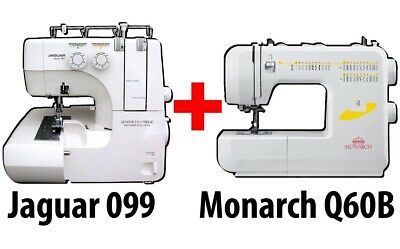 BUNDLE: Jaguar 097 Overlocker + Monarch Q60B Sewing Machine