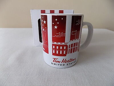 New-In-Box Tim Hortons 2016 L/E United States Traveler's Collection Coffee Mug
