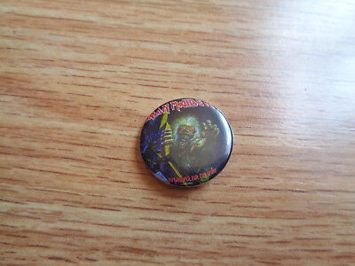 "Chapa/Pin/Badge IRON MAIDEN - ""No Prayer for the Dying"""