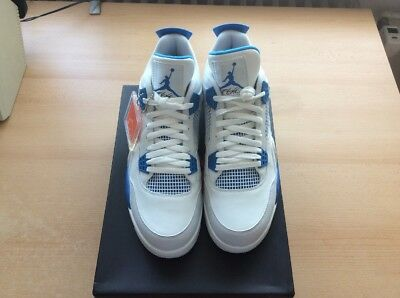 finest selection 3ecfd 8a288 Nike Air Jordan 4 Military Blue US12 46 Neu