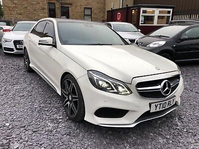 2010 Mercedes E350 Amg Sport White ** One Off Example Damaged Salvage ** L@@k **
