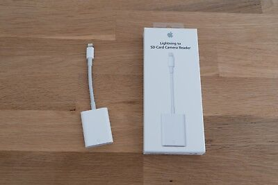 Apple Lightning to SD Card Camera Reader MJYT2ZM/A USB 3.0 OVP