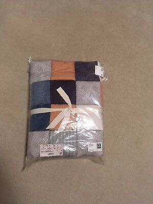 H&M Baby Quilt Patchwork Checked