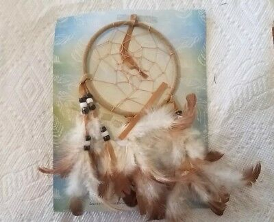 Dream Catcher With feathers Wall Hanging Decoration Decor Bead Ornament