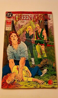 Green Arrow Annual #3 (1990, DC) First Printing Near Mint Bagged Boarded!!!