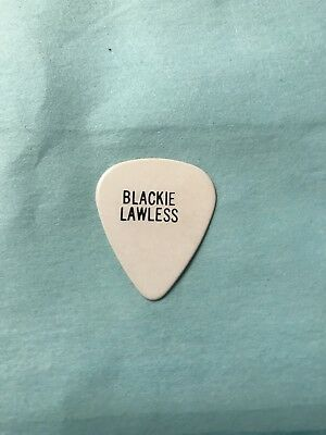 Wasp Blackie Lawless Guitar Pick The Crimson Idol 1992 Tour