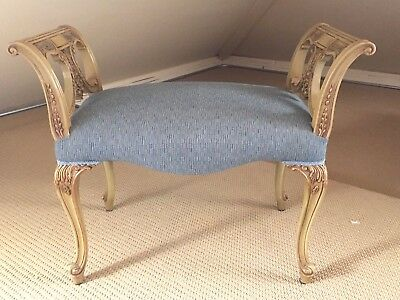 Sensational Vintage French Louis Xvi Ornate Recamier Settee Lounger W Caraccident5 Cool Chair Designs And Ideas Caraccident5Info