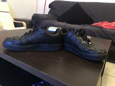 NIKE AIR FORCE 1 noir , taille 43
