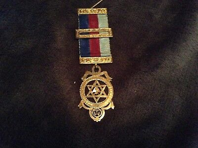 Vintage Silver 1933 Provincial   Royal Arch Chapter Jewel