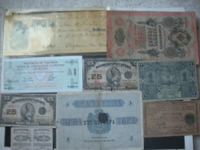 Mixed Foreign Paper Money Lot of 38 Plus