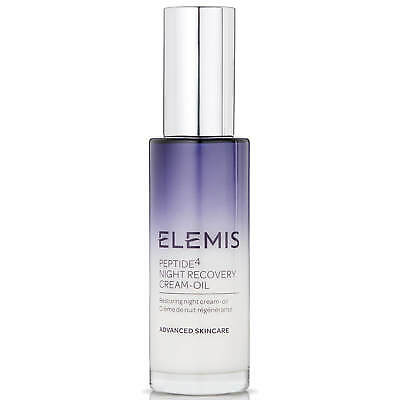 Elemis Peptide4 Night Recovery Cream-Oil 30ml #5217 DAMAGED BOX