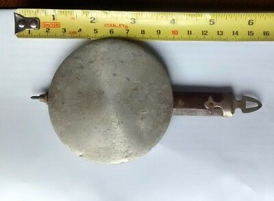 ANTIQUE WALL CLOCK PENDULUM 8cm dia.