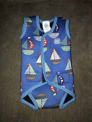 Water Babies / Happy Nappy Body Wetsuit 0-6 Months