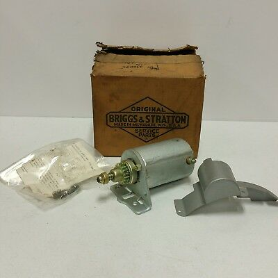 NOS OEM- Bendix type starter for Briggs & Stratton Engine models 1460 - 1700