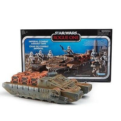 Star Wars Tvc Rogue One Imperial Combat Assault Hovertank Vehicle Free Shipping!
